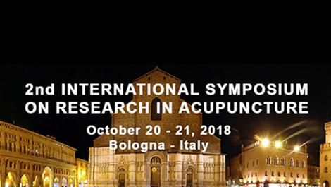 2nd International Symposium on Research in Acupuncture.
